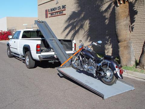 Mc Platforms Motorcycle Loader